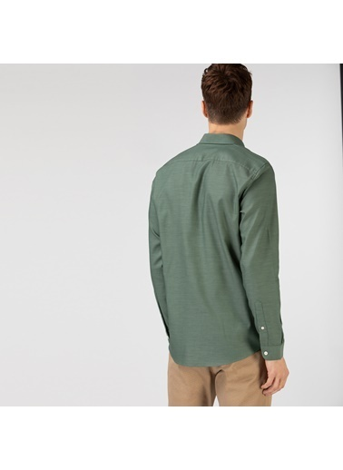 Lacoste Erkek Slim Fit Gömlek CH0101.01H Yeşil